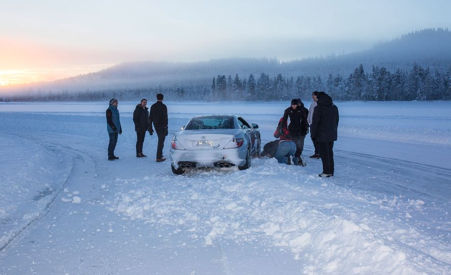 Mercedes-AMG Winter Academy: Driving AMGs in Sweden in the Dead of Winter - Slide 81