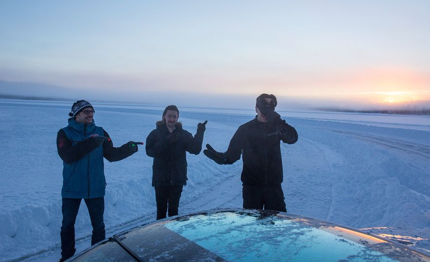 Mercedes-AMG Winter Academy: Driving AMGs in Sweden in the Dead of Winter - Slide 82