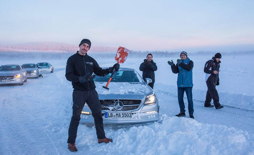 Mercedes-AMG Winter Academy: Driving AMGs in Sweden in the Dead of Winter - Slide 85