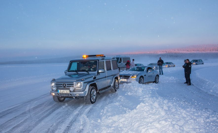 Mercedes-AMG Winter Academy: Driving AMGs in Sweden in the Dead of Winter - Slide 86