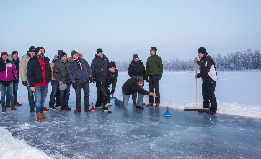 Mercedes-AMG Winter Academy: Driving AMGs in Sweden in the Dead of Winter - Slide 92