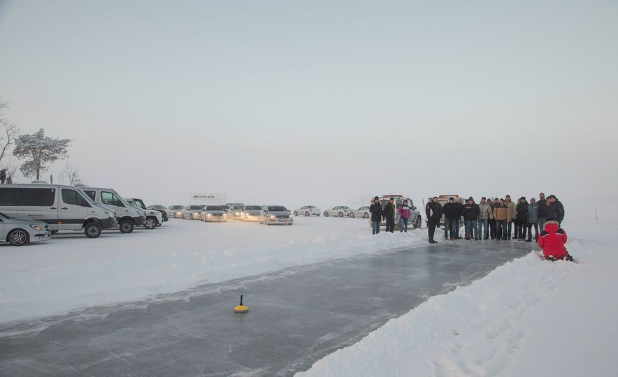 Mercedes-AMG Winter Academy: Driving AMGs in Sweden in the Dead of Winter - Slide 94