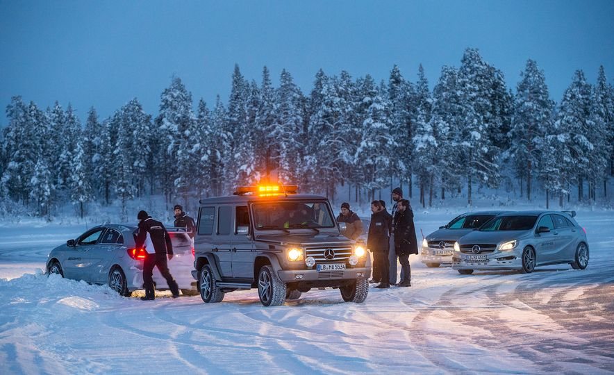 Mercedes-AMG Winter Academy: Driving AMGs in Sweden in the Dead of Winter - Slide 98