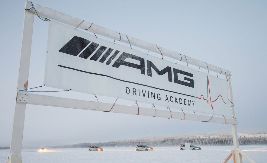 Mercedes-AMG Winter Academy: Driving AMGs in Sweden in the Dead of Winter - Slide 99