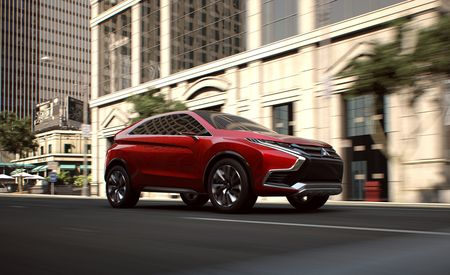 Round II: Mitsubishi XR-PHEV II Concept Previews Next Outlander Sport