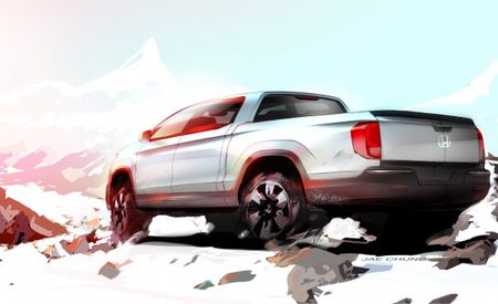 Honda Teases Next Ridgeline Pickup—Is a Split Tailgate in the Works?