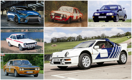 The Story of RS: A Visual History of Every Ford RS Model