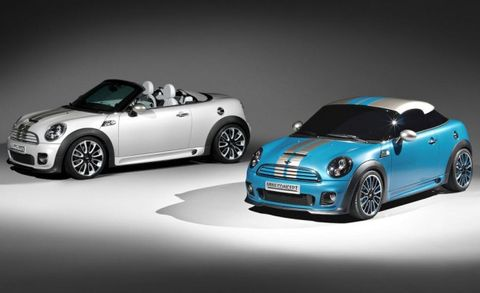 Roadster And Coupe Concepts