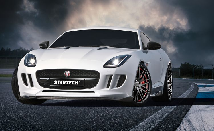 Startech Somehow Gets Carbon Fiber to Stick to the Jaguar F-Type Like Magnets