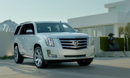Analysis: This Cadillac Escalade Commercial Marches to a Different Drummer