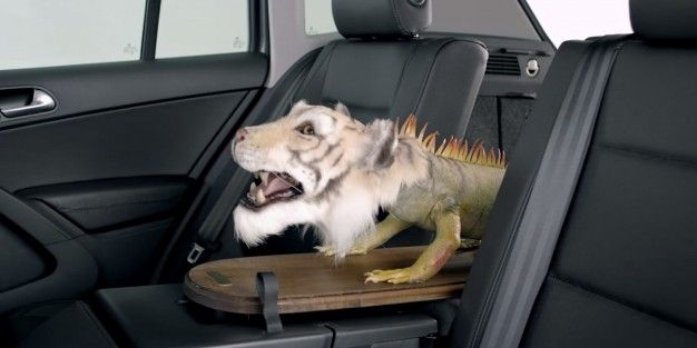 This Terrifying Mutant Creature Inspired the VW Tiguan's Name