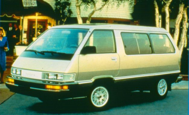 When Toyota Put An Icemaker In Its 1984 Van