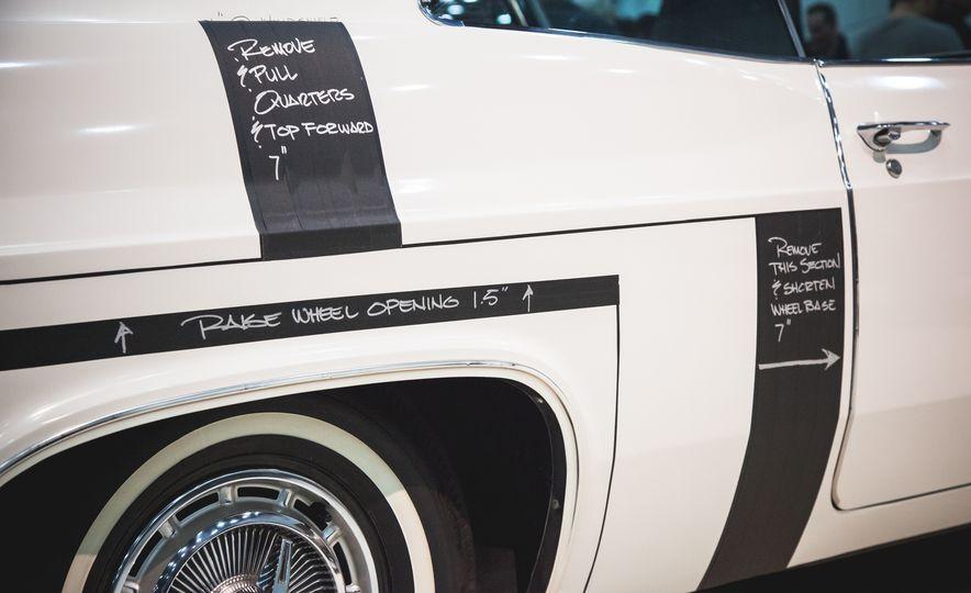 Chip Foose 1965 Chevrolet Impala Impostor - Slide 11