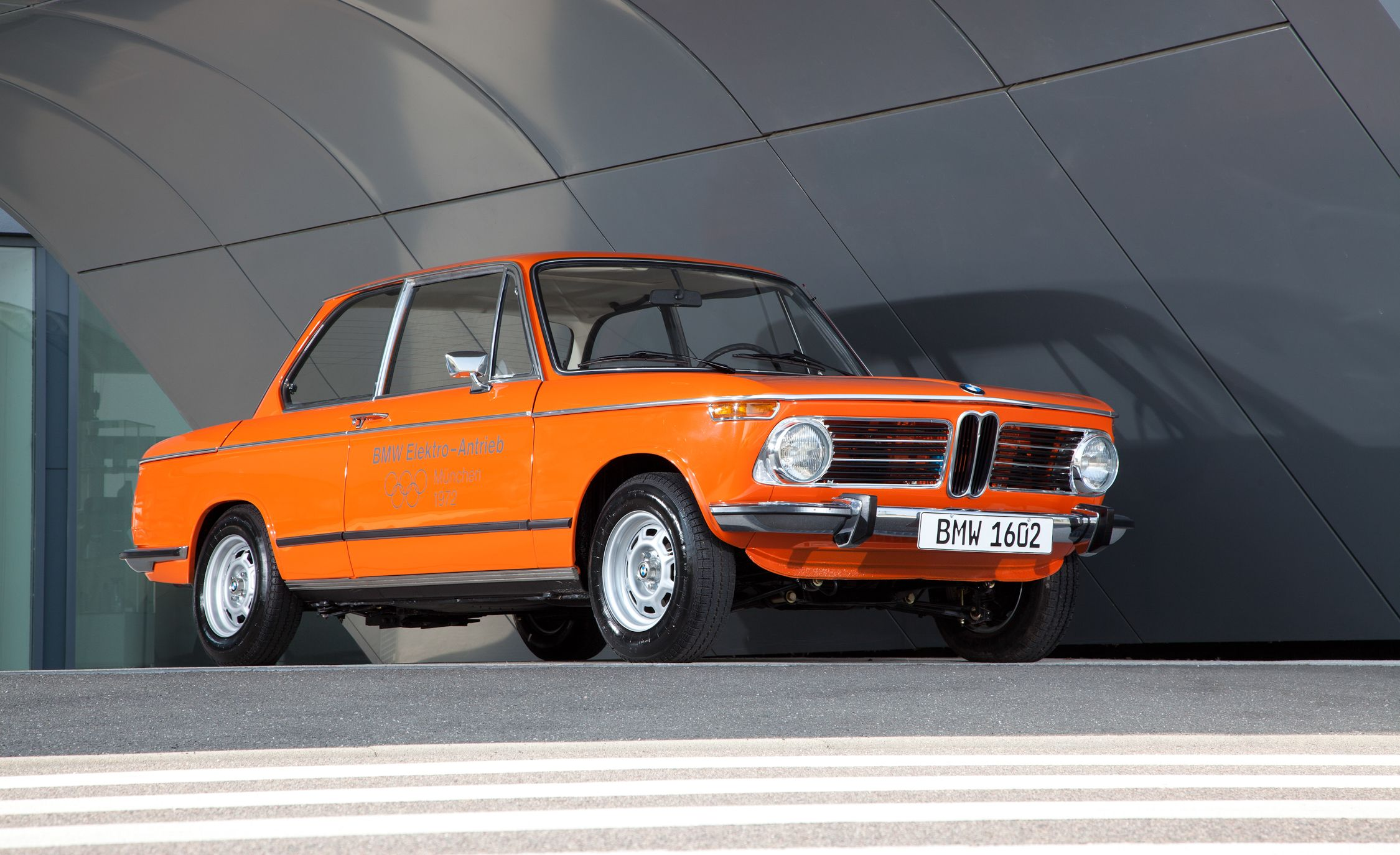 Orange Juiced Bmw S First Ev Paved The Way For The Amid An