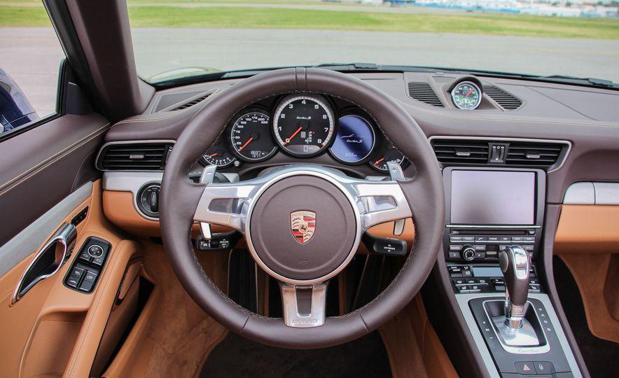 2014 Porsche 911 Turbo S cabriolet - Slide 44