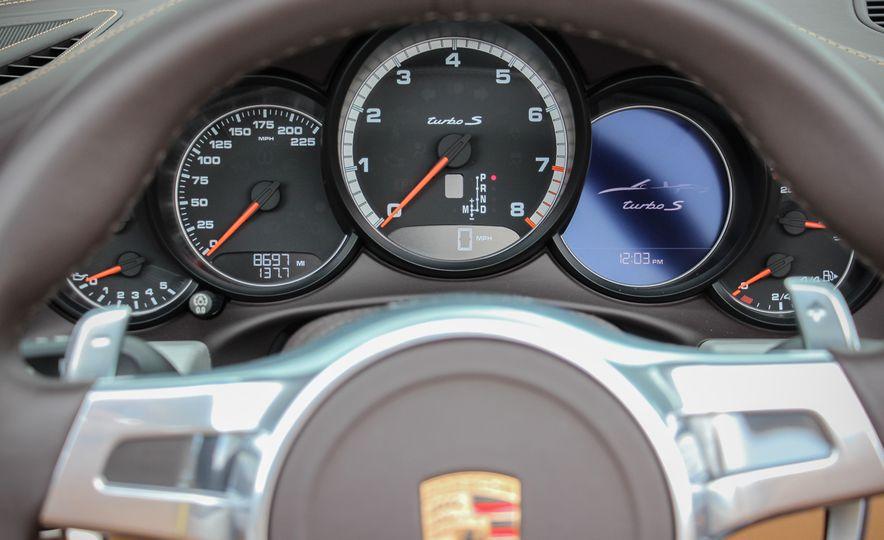 2014 Porsche 911 Turbo S cabriolet - Slide 49