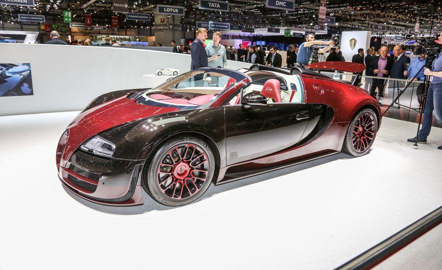 2015 Bugatti Veyron 16.4 Grand Sport Vitesse La Finale - Slide 1