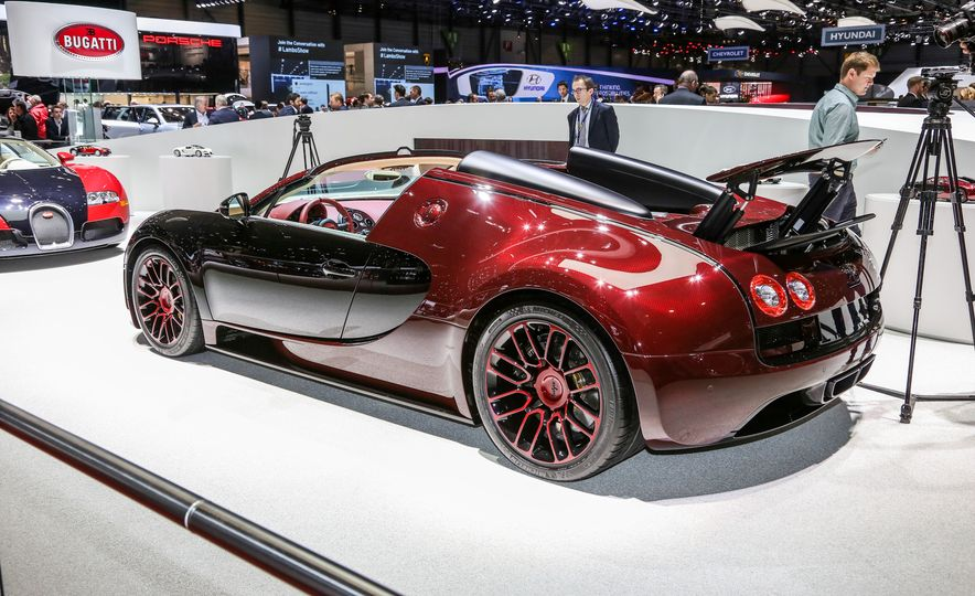 2015 Bugatti Veyron 16.4 Grand Sport Vitesse La Finale - Slide 3