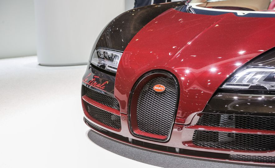 2015 Bugatti Veyron 16.4 Grand Sport Vitesse La Finale - Slide 9
