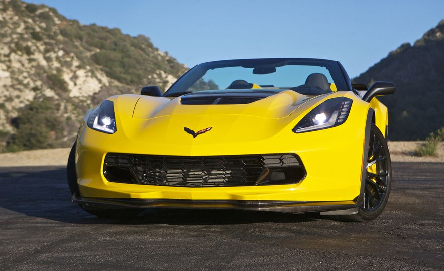 2015 Chevrolet Corvette Z06 convertible - Slide 7