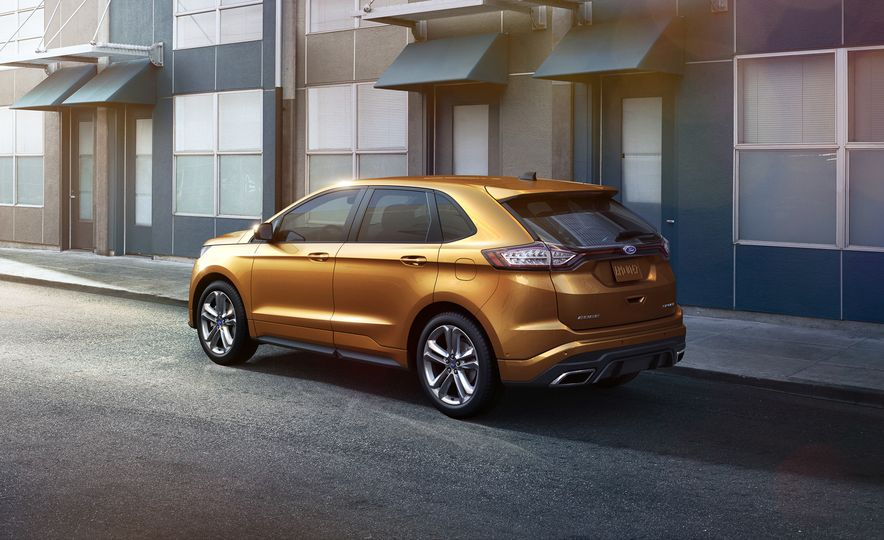 2015 Ford Edge Sport 2.7L EcoBoost and Edge Titanium - Slide 10