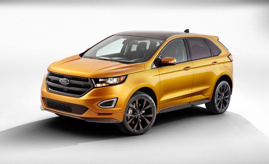 2015 Ford Edge Sport 2.7L EcoBoost and Edge Titanium - Slide 12