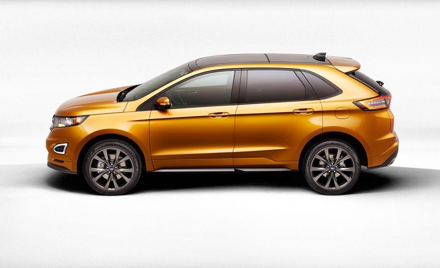 2015 Ford Edge Sport 2.7L EcoBoost and Edge Titanium - Slide 13