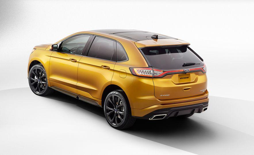 2015 Ford Edge Sport 2.7L EcoBoost and Edge Titanium - Slide 14