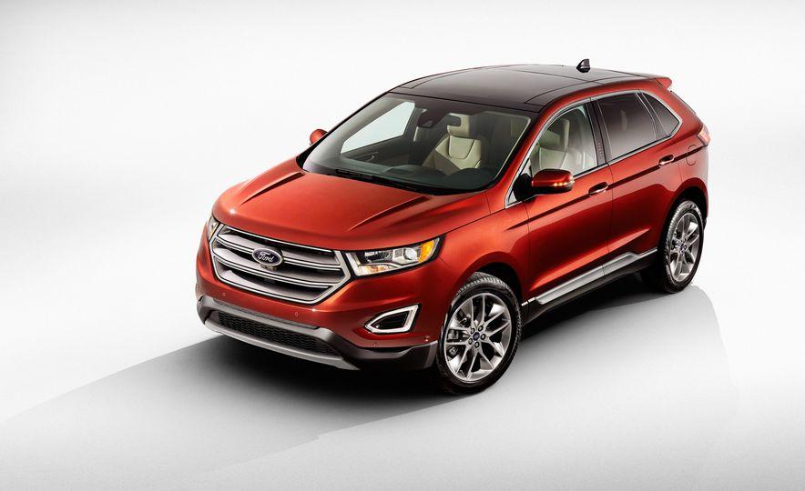 2015 Ford Edge Sport 2.7L EcoBoost and Edge Titanium - Slide 4