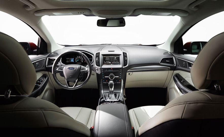 2015 Ford Edge Sport 2.7L EcoBoost and Edge Titanium - Slide 7