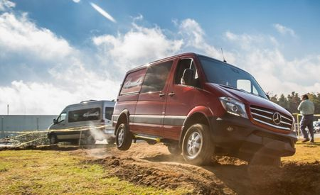 Mercedes-Benz Sprinting to Build Its Vans in New South Carolina Factory Starting in 2016