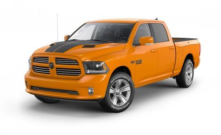 They're Grrrreeeeeat! Ram Channels Its Inner Tiger With Orange and Black Special-Edition 1500 Sport Pickups