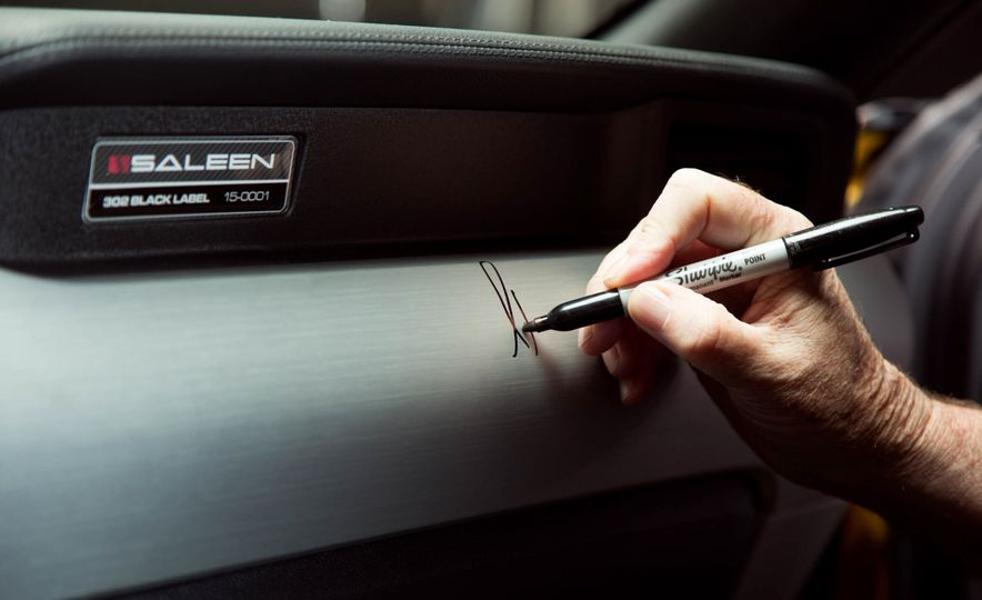 2015 Saleen Mustang S302 Black Label - Slide 55