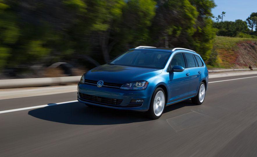 2015 Volkswagen Golf SportWagen 1.8T TSI - Slide 1
