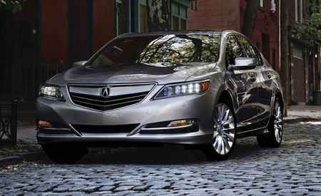 I'm Perd Hapley, and the Story with the Updated 2016 RLX Is that It's a 2016 RLX That's Been Updated