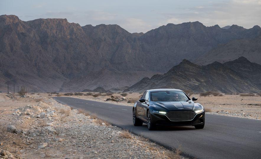 2016 Aston Martin Lagonda - Slide 14