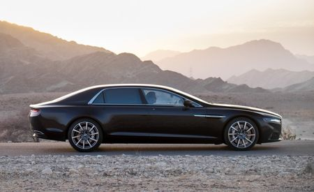 Next-Gen Aston Martin Lagonda and Five-Door DBX Crossover to Take Over for Rapide