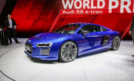 2016 Audi R8 e-tron: The Electrified R8 Finally Arrives – Official Photos and Info
