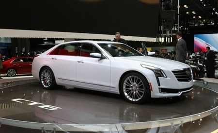 Cadillac CT6 Plug-In Hybrid Pegged for China Debut Later this Month