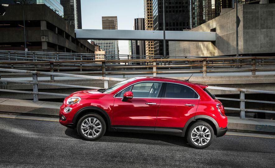 2016 Fiat 500X Trekking Plus and Lounge - Slide 57