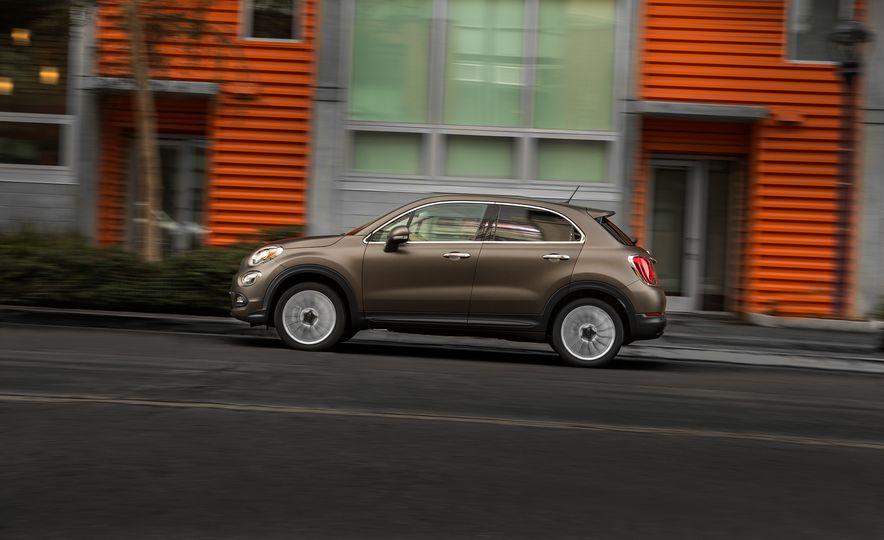 2016 Fiat 500X Trekking Plus and Lounge - Slide 60