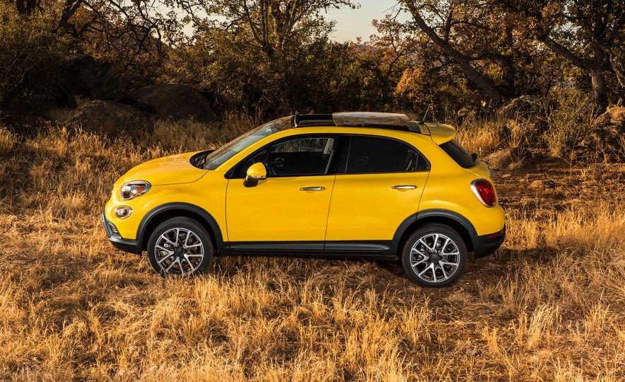 2016 Fiat 500X Trekking Plus and Lounge - Slide 32