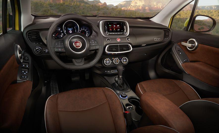 2016 Fiat 500X Trekking Plus and Lounge - Slide 43