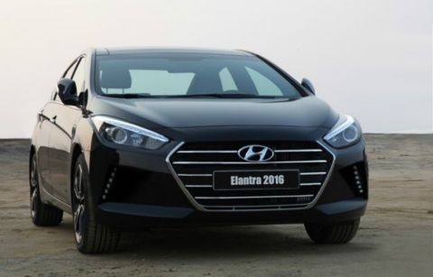 2016 Hyundai Elantra First Shot