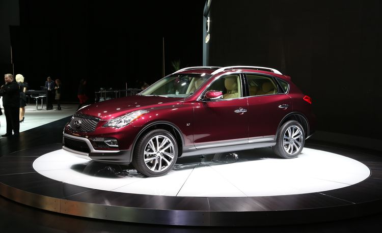 2016 Infiniti QX50: Longer But Not Any Stronger – Official Photos and Info