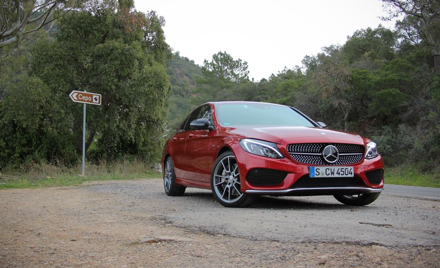 2017 MercedesBenz Cclass coupe  Photo Gallery  Car and Driver
