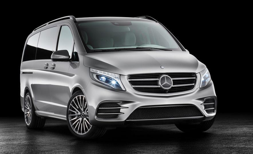 2016 Mercedes-Benz Concept V-ision e - Slide 1