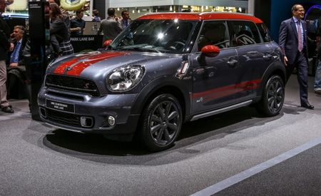 Mini's Big(gish) News for Geneva: Fancy Park Lane Duds for the Countryman