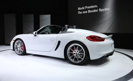 Porsche Said to Be Considering a Boxster Spyder GT4