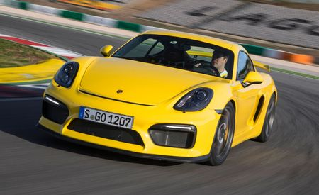 Porsche Cayman GT4 Hits 150 mph in This Video
